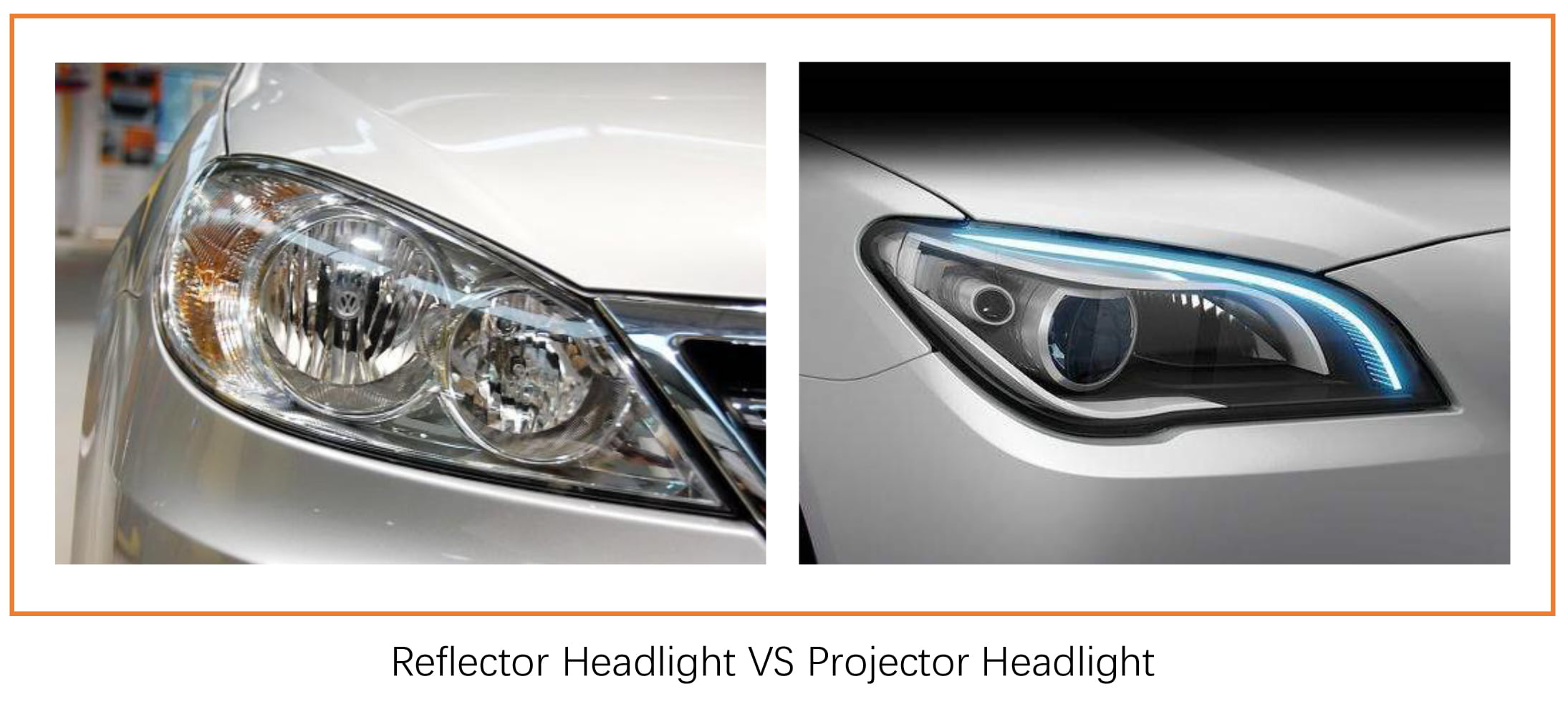 projector vs reflector